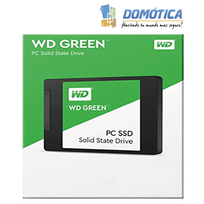 SSD-2.5-120GB SATA-WD-Green WDS120G2G0A-500MB/S - DOMOTICA COLOMBIA - DOMOTICA