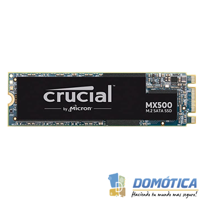 SSD-M.2-2280 500GB-Crucial MX500-CT500MX500SSD4 - DOMOTICA - DOMOTICA COLOMBIA