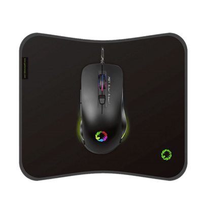 Combo Mouse Rgb + Mouse Pad - Domotica Colombia - Domotica