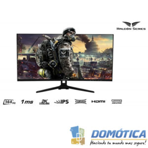 Monitor-Gaming Halcón-Series 32-144hz-2k - Domotica Colombia - Domotica